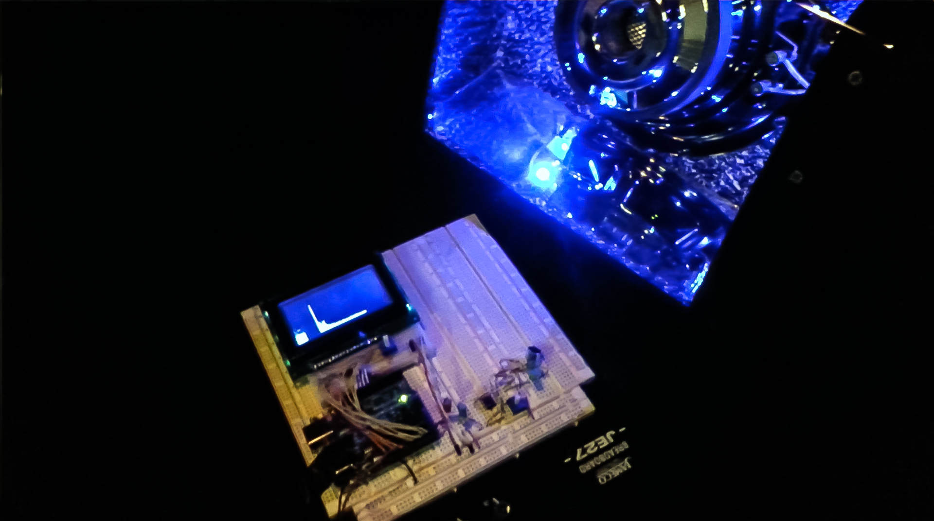 Music visualization with an arduino mcclanahoochie s